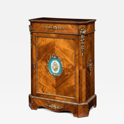 Kingwood antique side cabinet