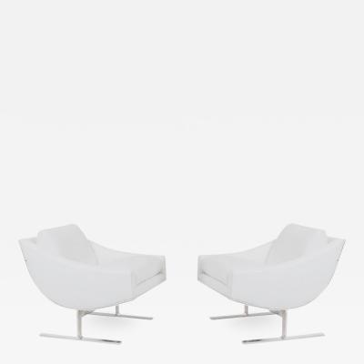 Kipp Stewart Kipp Stewart Arc Lounge Chairs for Directional