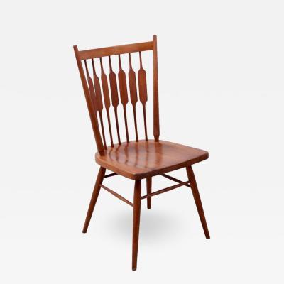 Kipp Stewart Kipp Stewart Desk Chair Centennial in Solid Walnut by Drexel USA 1950s