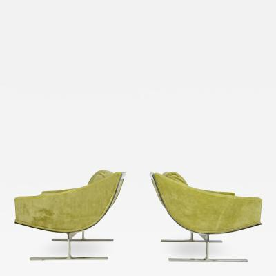 Kipp Stewart Pair of Kipp Stewart Lounge Chairs