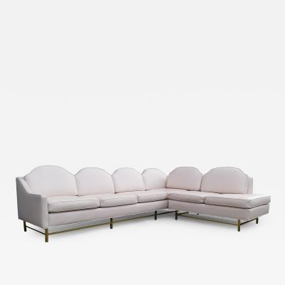 Kipp Stewart Stewart MacDougall Kipp Stewart and Stewart McDougall Suncoast Mid Century Modern Sectional Sofa