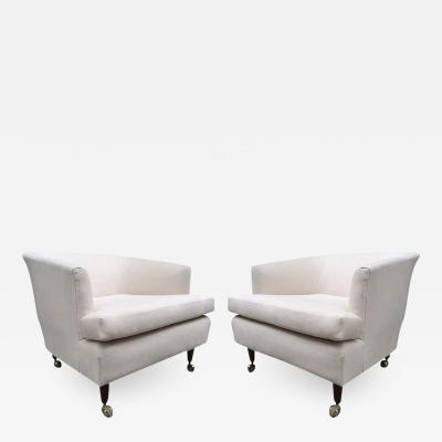 Kipp Stewart Stewart MacDougall Pair of Kipp Stewart for Directional Lounge Chairs