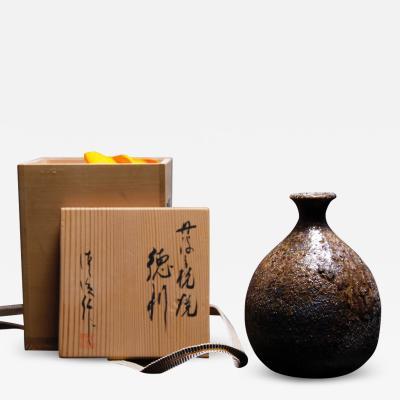 Kiyoharu Ichino Ceramic Vase by Kiyoharu Ichino