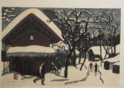 Kiyoshi Saito Japanese Woodblock Print by Saito