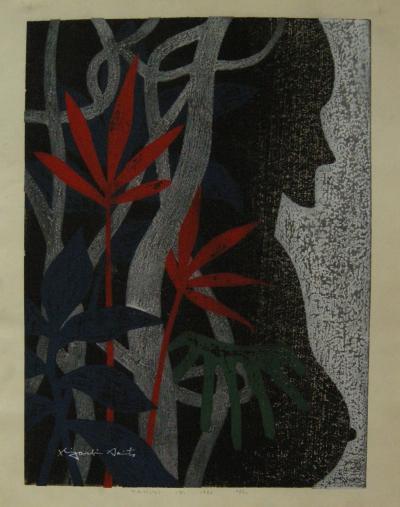 Kiyoshi Saito Tahiti C by Kiyoshi Saito 1971