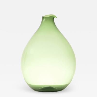Kjell Blomberg Vase Produced in Gullaskruf