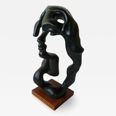 Klara Sever Modern Surreal Portrait of a Woman Sculpture by Klara Sever Austin Productions