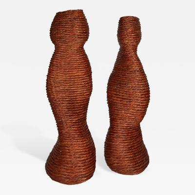 Klaus Titze Klaus Titze Sculptural Wicker Figures