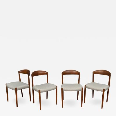 Knud Andersen Danish Dining Chairs