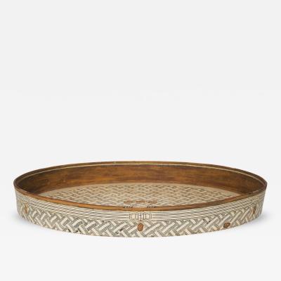 Knud Kristensen Oval Dish in Ceramics