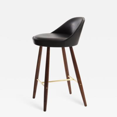Knud Vodder Low Backed Bar Stool