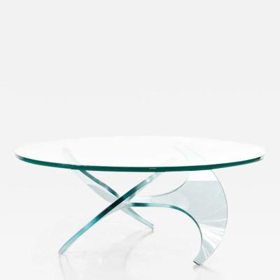 Knut Hesterberg 1960s Propeller Coffee Table by Knut Hesterberg for Ronald Schmidt