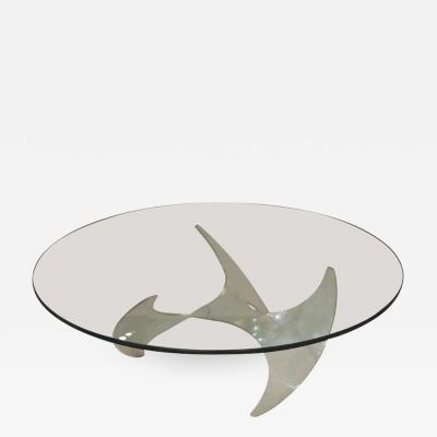 Knut Hesterberg Propeller Coffee Table by Knut Hesterberg