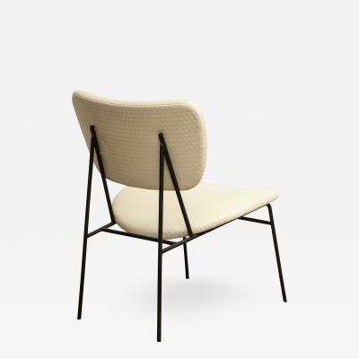 Kofod Larsen Iron and Leather Chair