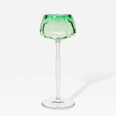 Koloman Moser Wineglass Meteor Tulip Shape Koloman Moser Bakalowits Vienna Meyrs Neffe