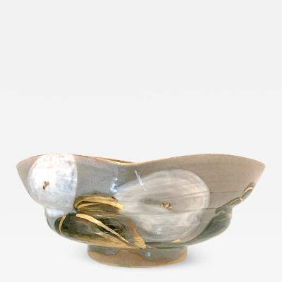Kozan Makuzu Japanese Ceramic Bowl Makuzu Kozan Utusushi Kenzan