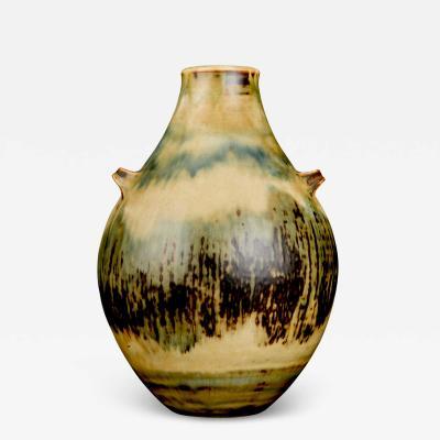 Kresten Bloch Vase with Sung Glaze by Kresten Bloch for Royal Copenhagen