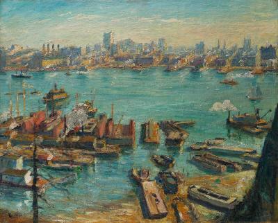 Max Kuehne Across the Hudson