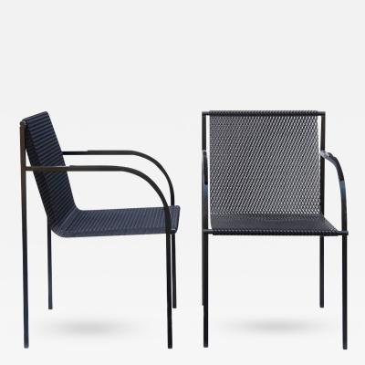 Kuramata Shiro Expanding Mesh Chair by Shiro Kuramata
