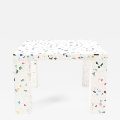 Kuramata Shiro Shiro Kuramata Nara Couch or Side Table Made from Terrazzo