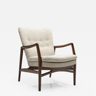Kurt Olsen Kurt Olsen Model 215 Easy Chair for Slagelse M belv rk Denmark 1954