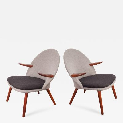 Kurt Olsen Pair of Kurt Olsen Easy Chairs