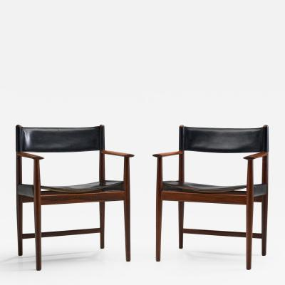 Kurt Ostervig A Pair of Kurt stervig Dining Chairs for Sibast Denmark 1960s
