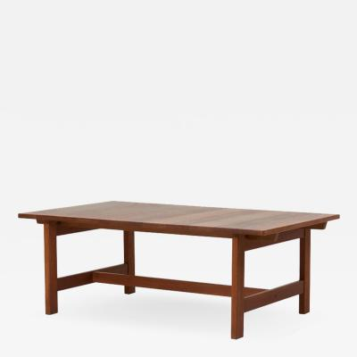 Kurt Ostervig Oak Coffee Table by Kurt Ostervig Denmark 1960s