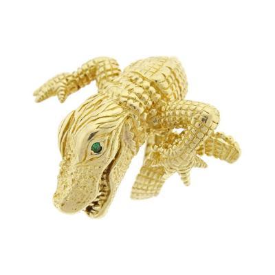 Kurt Wayne Kurt Wayne Gold Alligator Ring