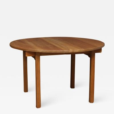 Kurt stervig KURT OSTERVIG KP MOBLER OAK TABLE