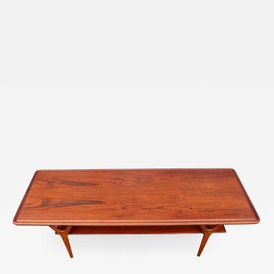 Kurt stervig Kurt Ostervig Exquisite Kurt Ostervig Teak Oak Y Leg Coffee Table w Shelf for Jason
