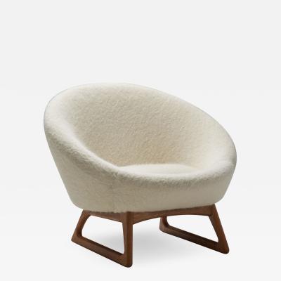 Kurt stervig Kurt Ostervig Kurt stervig 57A Lounge Chair for Rolschau M bler Vejen Denmark 1958