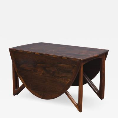 Kurt stervig Kurt Ostervig Rosewood Oval Dining Table