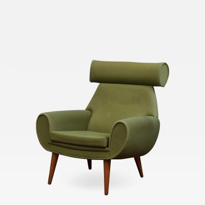 Kurt stervig Kurt Ostervig Scandinavian Modern Lounge Chair by Kurt Ostervig