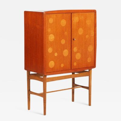 Kurt stervig Kurt stervig Teak and Oak Bar Cabinet 1940s