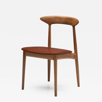 Kurt stervig Kurt stervig Walnut Dining Chair Denmark 1950s