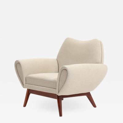 Kurt stervig Rare Kurt stervig lounge chair Denmark 1960s
