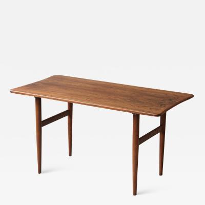 Kurt stervig Rosewood Side Table by Kurt stervig for Jason M bler 1960s