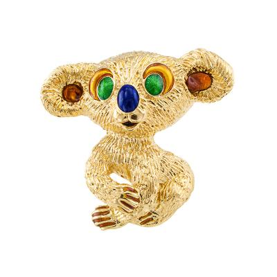 Kutchinsky Estate Koala Bear Brooch