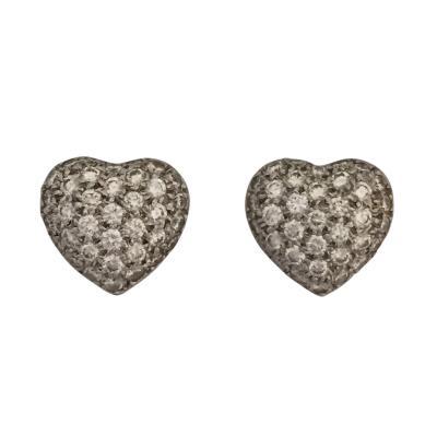Kwiat Diamond Heart Earrings