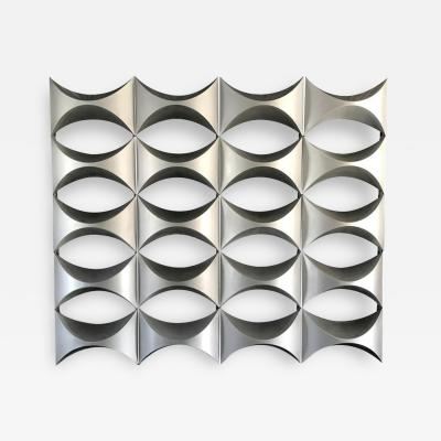 L Oeuf Atelier Monumental Decorative Wall Panel Element of French Architecture 1970