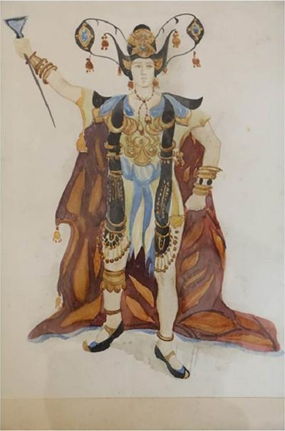 L on Bakst Watercolour on paper by L on Bakst circa 1905 1910