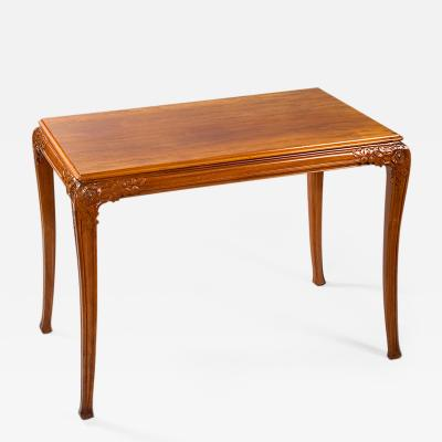L on Jallot French Art Nouveau Table by Jallot