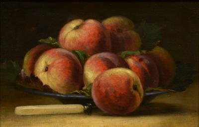 L on Jules Lema tre Still Life with Peaches