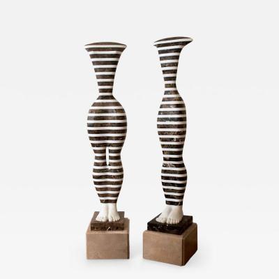 L szl Taubert Striped Idols IV