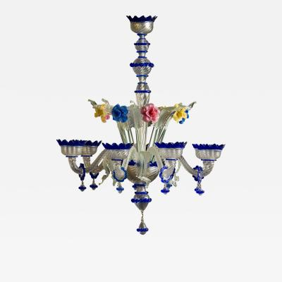 LARGE AND DECORATIVE VENETIAN CHANDELIER