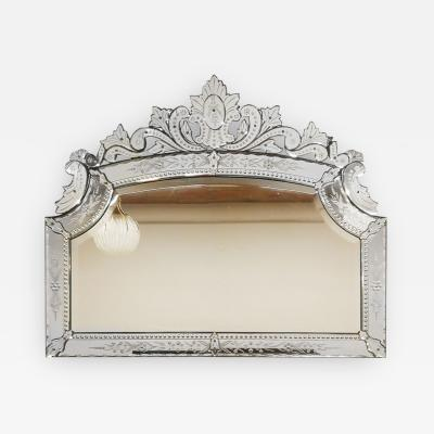 LARGE NEOCLASSICAL BEVELED MIRROR MAJORCA