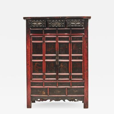 LATE 18TH CENTURY DECORATED CABINET FROM SHANXI CHINA