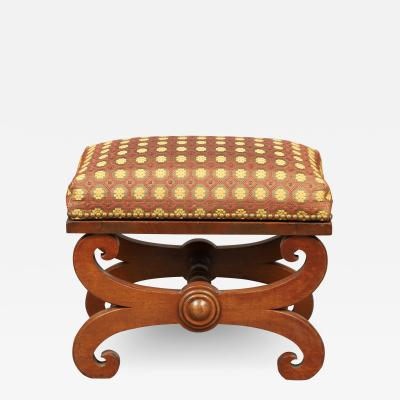 LATE FEDERAL FOOT STOOL