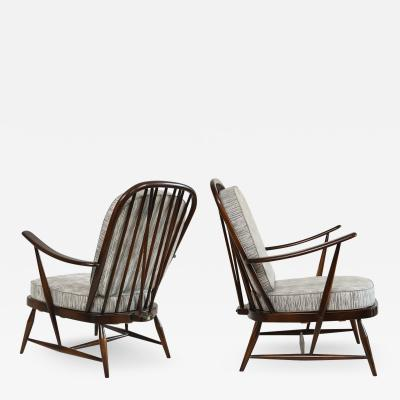 LUCIAN RANDOLPH ERCOLANI LUCIAN RANDOLPH ERCOLANIS WINDSOR CHAIRS FOR ERCOL ENGLAND 1950s